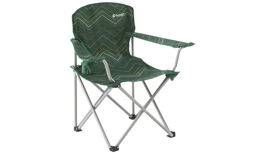 Outwell Woodland Hills Folding Chair green